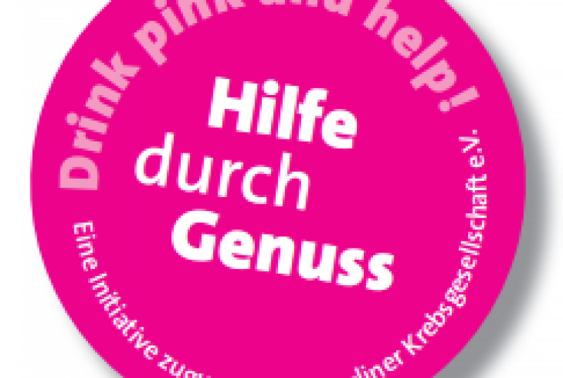 Drink pink and help!